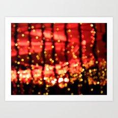 Light-up Art Print