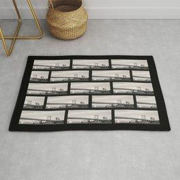 I love NY - Black and White Rug