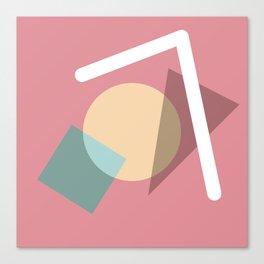 Imperfect Geometries #2 Canvas Print