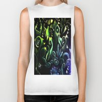 duvet cover Biker Tanks featuring LONELY FOREST DUVET COVER by aztosaha