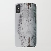 wes anderson iPhone & iPod Cases featuring Anderson Lake by Kevin Russ
