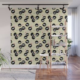 Soot Sprites with Konpeito Sugar Candy Wall Mural