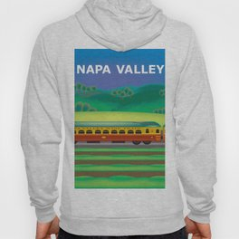 Napa Valley, California - Skyline Illustration by Loose Petals Hoody