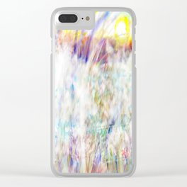 Sunrise of Sunset On Fire Clear iPhone Case