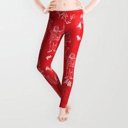 Xmas Joy Pattern Leggings