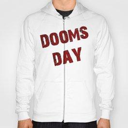 Dooms day red  Hoody