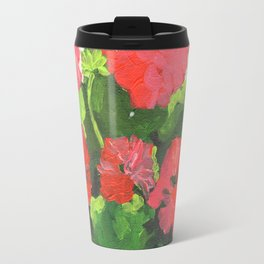 Geraniums Travel Mug