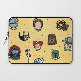 Star Fleet Flash Sheet Laptop Sleeve