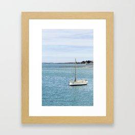 The Little Boat Framed Art Print