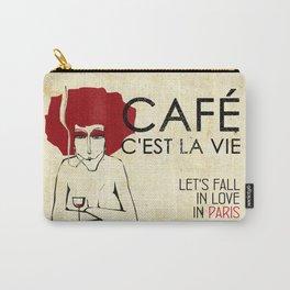 Café c'est la vie - Paris Carry-All Pouch