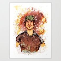 Robert Rodriguez Art Print