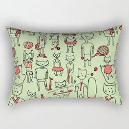 les sports Rectangular Pillow