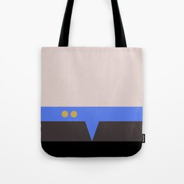 Julian Bashir - Minimalist Star Trek DS9 Deep Space Nine - Doctor Bashir  - startrek - Trektangles Tote Bag