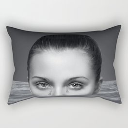 Drown In Own Tears Rectangular Pillow