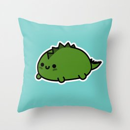 Little Dino Throw Pillow