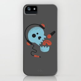 Calavera rockera / Rocking skull iPhone Case