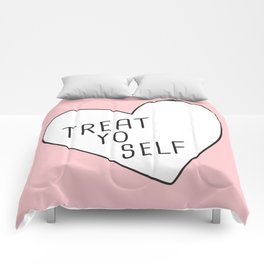 Treat Yo Self Comforters