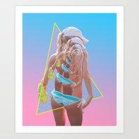 always tripp'n Art Print