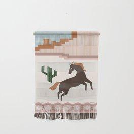 Wild Desert Horse Wall Hanging