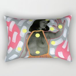 Access Denied Rectangular Pillow