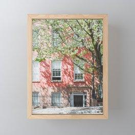 Brooklyn Heights in Spring Framed Mini Art Print