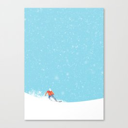 Snow_04 Canvas Print