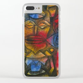 Collection of Figurines by Paul Klee, 1926 Clear iPhone Case
