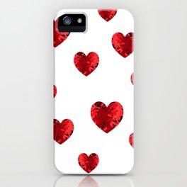Hearty heart hearts iPhone Case