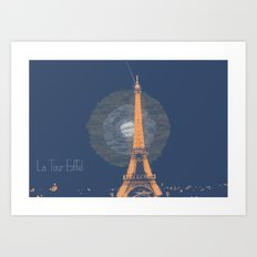 A perfect backdrop for Love Art Print