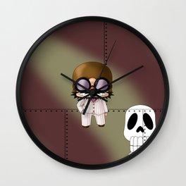 Chibi Mamma Aiuto Wall Clock
