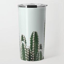 Blue Sky Cactus Travel Mug