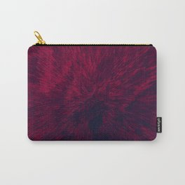 Bold Burst in Red Carry-All Pouch
