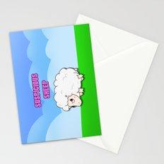 Suspicious Sheep Stationery Cards