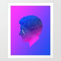 Satur Art Print