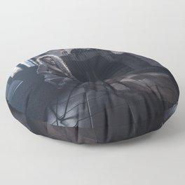 Tu m'as promis V Floor Pillow