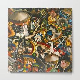 Classical Masterpiece 'The Fair in Utrecht by Pyke Koch Metal Print
