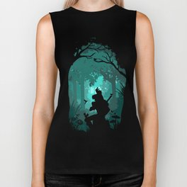 Ocarina in the Woods Biker Tank