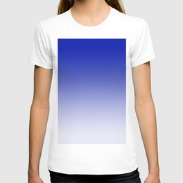 Ombre Zaffre Blue Duotone T-shirt
