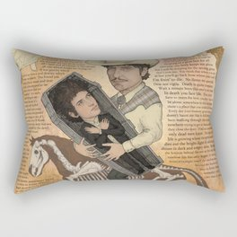 Bob Dylan - Find Out Something Only Dead Men Know Rectangular Pillow