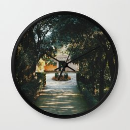 Deep In To The Labyrinth Wall Clock