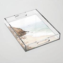 Malibu California Beach Acrylic Tray