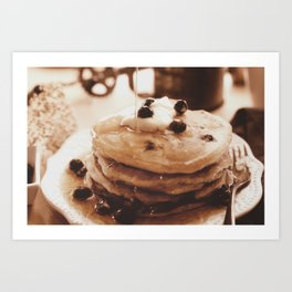 Pancakes from the past Art Print