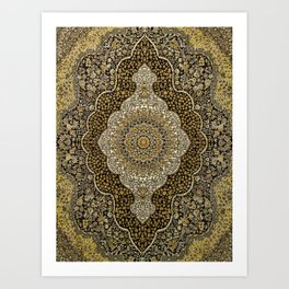 Persian Rug Art Print