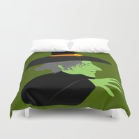 witch Duvet Covers featuring Witch by Jessica Slater Design & Illustration