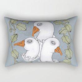 me, myself and i Rectangular Pillow