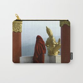 Myanmar Monk Carry-All Pouch