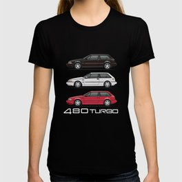 Stack of Volvo 480 Turbos T-shirt