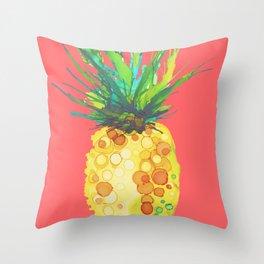 Pineapple Mango Daiquiri Throw Pillow