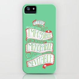 Inevitable Dream - Bright iPhone Case