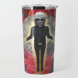 Saint LeRoy of the Sacred Faceless Avatar Travel Mug